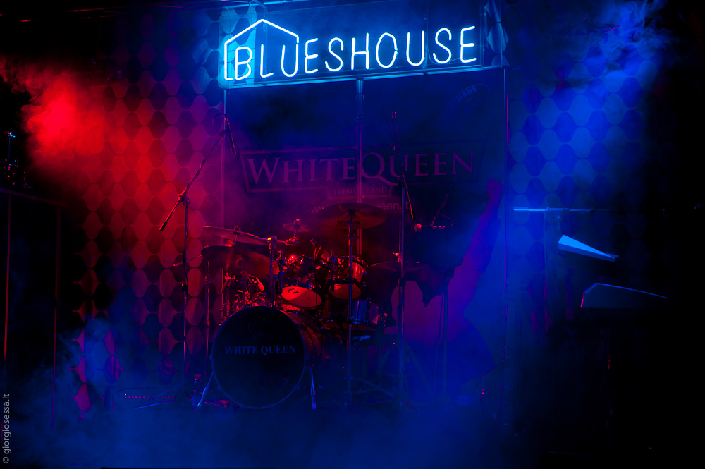 White Queen - Concerto dei White Queen al Blueshouse di Milano